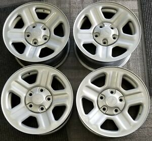 16 Jeep Wrangler Grand Cherokee Factory Oem Steel Wheels Rims 16x7 2007 2016