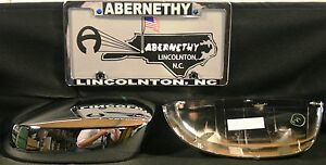 17800560 Gm Chrome Outside Mirror Replacement Covers For Full Size Truck