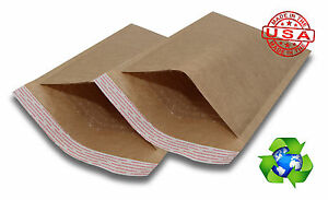 1000 1 7 25x12 Brown Kraft Bubble Mailers Padded Envelopes Bags 7 25 x12