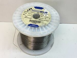 5 200ft 3 0lb Roll Nichrome Resistance Wire 27 guage N6 Alloy 3 3420ohms ft