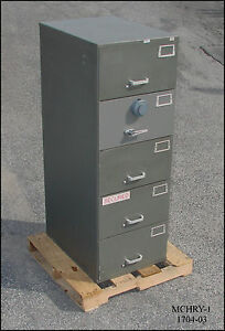 File Safe -Ammo Storage - Security File -  {Mosler Hamilton Diebold York}