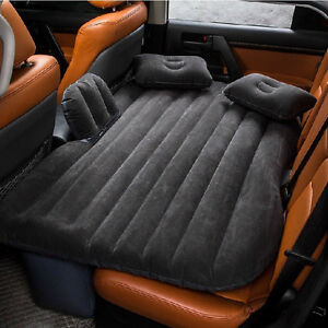 Car Air Bed Travel Inflatable Mattress Back Seat Cushion Camping Bk Outdoor Sofa