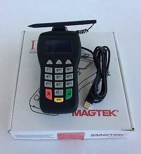 Magtek I Pad Credit Card Reader Usb Pin Pad