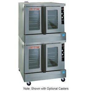 Blodgett Zephaire Bakery Depth Double Deck Electric Convection Oven