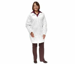 White Disposable Tyvek Lab Coat 2xl 30 case