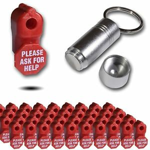 100 50 Retail Security Stop Lock Detacher Key Ask For Help Hook Anti theft 6mm