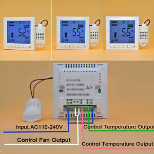 White Pc Intelligent Digital Humidity Temperature Sp92 Controller Buy 110 240v
