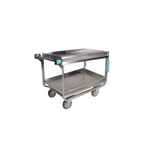 Lakeside 725 19 3 8 x32 5 8 x34 1 2 Stainless Steel Utility Cart
