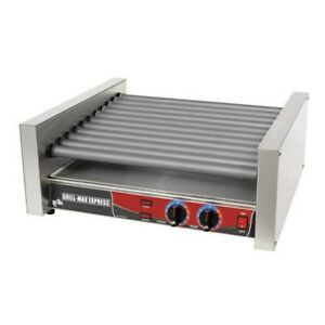 Star X30s Grill max Flat Style 30 Hot Dog Roller Grill W Duratec