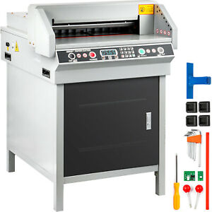 Details About 18 Automatic Electric Paper 450mm Cutter Cutting Machine Coated