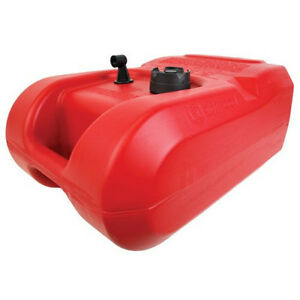 Portable Fuel Tank 6gal Capacity Plastic Container Boating Generator Gas Storage
