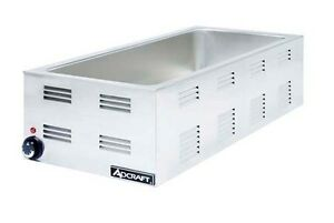 Adcraft Fw 1500w Countertop 1500w Food Warmer W 4 3rd Pan Capacity