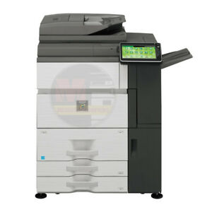 Sharp Mx 6240n Color Laser Multifunction Printer Scanner Copier Duplex