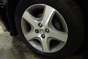Oem 15x6 Alloy Wheel 2004 2005 Honda Civic Tire Not Included 5 Spoke