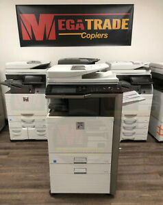 Sharp Mx m453n Mono A3 a4 Laser Multifunction Printer Copier Scanner 45 Ppm
