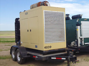 Caterpillar 135 Kw Natural Gas Lp Generator G3306ta
