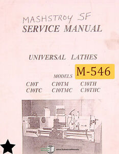 Mashstroy C10 Series Sf Universal Lathes Service Manual