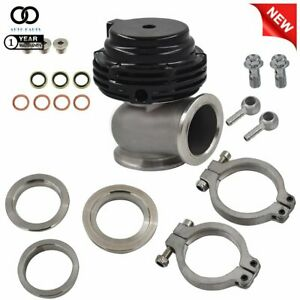 New Wastegate Mvs 38mm Black With V band And Flanges Mv s Free Priority
