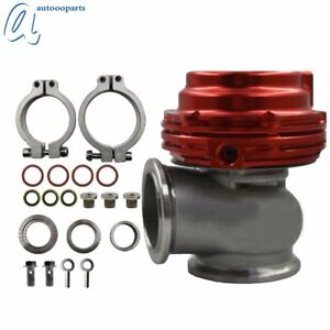 Wastegate For Tial 38mm Mvs With V Band Flanges Steel Stainless Aluminium Usa