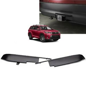 2014 2016 Highlander Rear Bumper Valance For Tow Hitch Access Pt228 48140 Aa