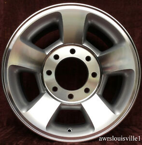 New Set Of 4 17 Replacement Wheels Fit Dodge Ram 2500 3500 Machined 2187