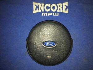 1987 1989 Ford Mustang Steering Wheel Horn Button Cover Cap Pad Stock Used Oem