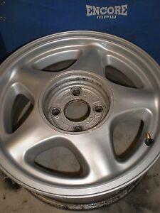 1979 1993 Ford Mustang Pony Aluminum Wheel Stock 4 Lug 16 5 Star Factory Oem Gt