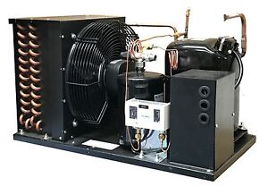 Outdoor Ld Ava2490zxn Condensing Unit 2 3 8 Hp Low Temp R404a 220v 1ph usa