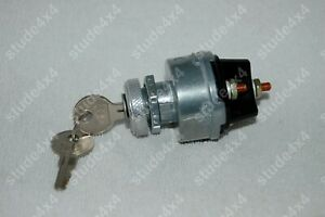Willys Jeep Ignition Switch Cj2a Cj3a Dj3a Cj3b Cj5 Cj6 1946 66 924918