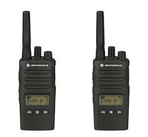 2 Motorola Rmu2080d Uhf Business Two way Radios Buy 6 Get One Free