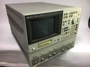 Agilent Hp 4195a Impedance Analyzer General Purpose Used