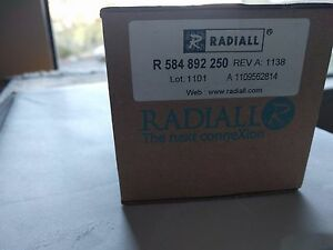 Radiall Rf Switch r584892250 Switch 1x6 40ghz 2 92 Latching 12v Term Sco