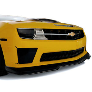 Acc Fog Light Covers Fits 10 13 Camaro Ss W front Fascia bumblebee Style Smoked