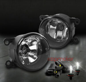 08 12 Focus 05 Mustang Lincoln Ls 07 Navigator Bumper Chrome Fog Lights 6k Hid