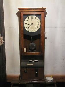 1934 International Time Recording Co Time Clock