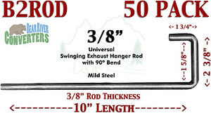B2rodx50 Universal Exhaust Southern Hanger 3 8 Rod 90 J Hook Style 10