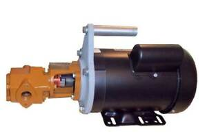 Oil Transfer Pump 1hp 120v 16gpm Portable Diesel Fuel Extractor Siphon