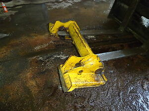 John Deere 332d Skid Steer Loader Quick Attach Plate Coupler Attachment 332
