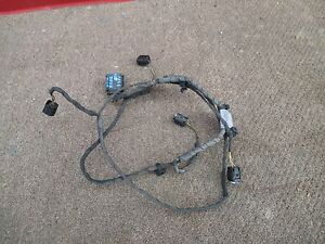 2004 Bmw 745i Rear Bumper Wire Parktronic Harness Oem 2002 2003 205