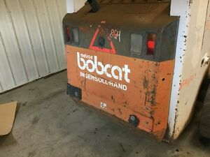 Bobcat 863 Skid Steer Rear Door Molding Missing Dents P n 6705776
