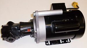 Gear Pump 12 Gpm High Torque Waste Oil Transfer Heaters Burner Furnace Cold Oil