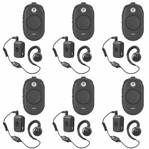 6 Motorola Clp1060 Uhf Two way Radios Rebate For A Free Multi unit Charger