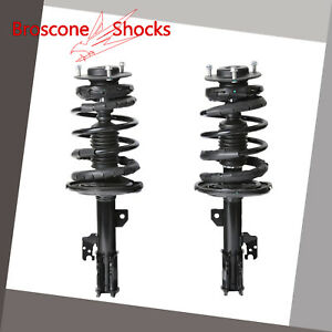 For 2007 2008 2009 2010 2011 Toyota Camry Front Pair Complete Shocks Struts