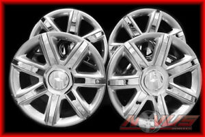 New 2015 22 Cadillac Escalade Chrome Wheels Chevy Tahoe Gmc Yukon Denali 20