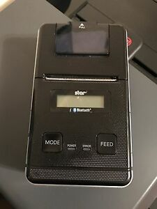 Star Bluetooth Wireless Pos Receipt Printer Sm s220i db40