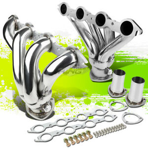 Stainless Shorty Manifold Header Exhaust For Chevy Bbc 366 454 Mark Iv Engine