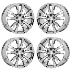 17 Chrysler 200 Pvd Chrome Wheels Rims Factory Oem Set 4 2511 Exchange