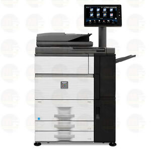 Sharp Mx 7500n Color Laser Multifunction Printer Scanner Copier Duplex