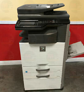 Sharp Mx 3115n Color Multifunction Laser Copier Printer Scanner