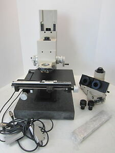 Olympus Bh2 uma Microscope W Granite Base Eyepieces Rsf Msa001 Electronik Stage